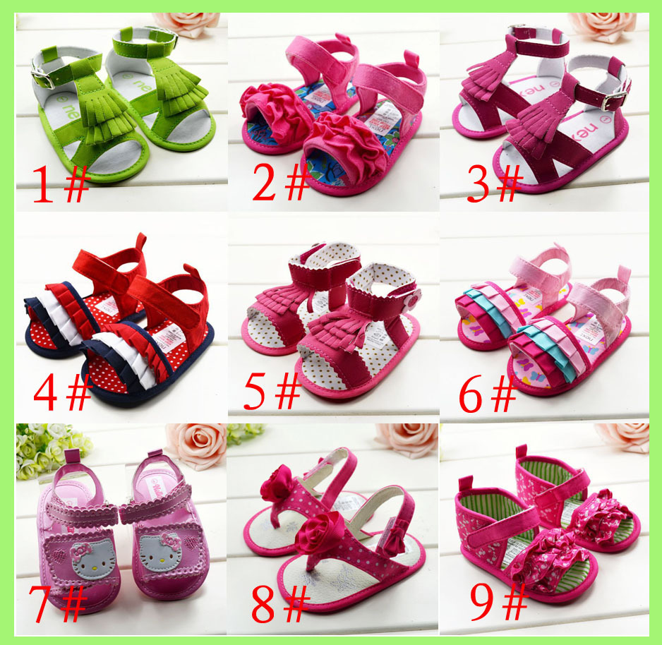 New fashion baby sandals girls first walkers toddler shoes baby shoes  sandals size 2 3 4-in Sandals   Clogs from Mother   Kids on Aliexpress.com