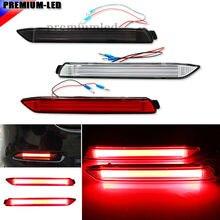 (2) OEM JDM 3D-оптический Стиль LED Бампер Отражатели огни для Lexus и toyota замены наличии бампер Светоотражающие объектива