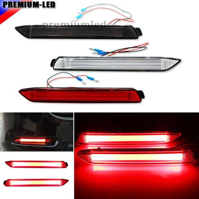 2) OEM JDM 3D Optic Stijl LED Bumper Reflector Verlichting Voor ...