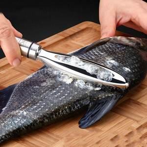 Accessorie-Tool Scraper Peeler Fish-Scales Gadge Fish-Bone-Tweezers Stainless Kitchen
