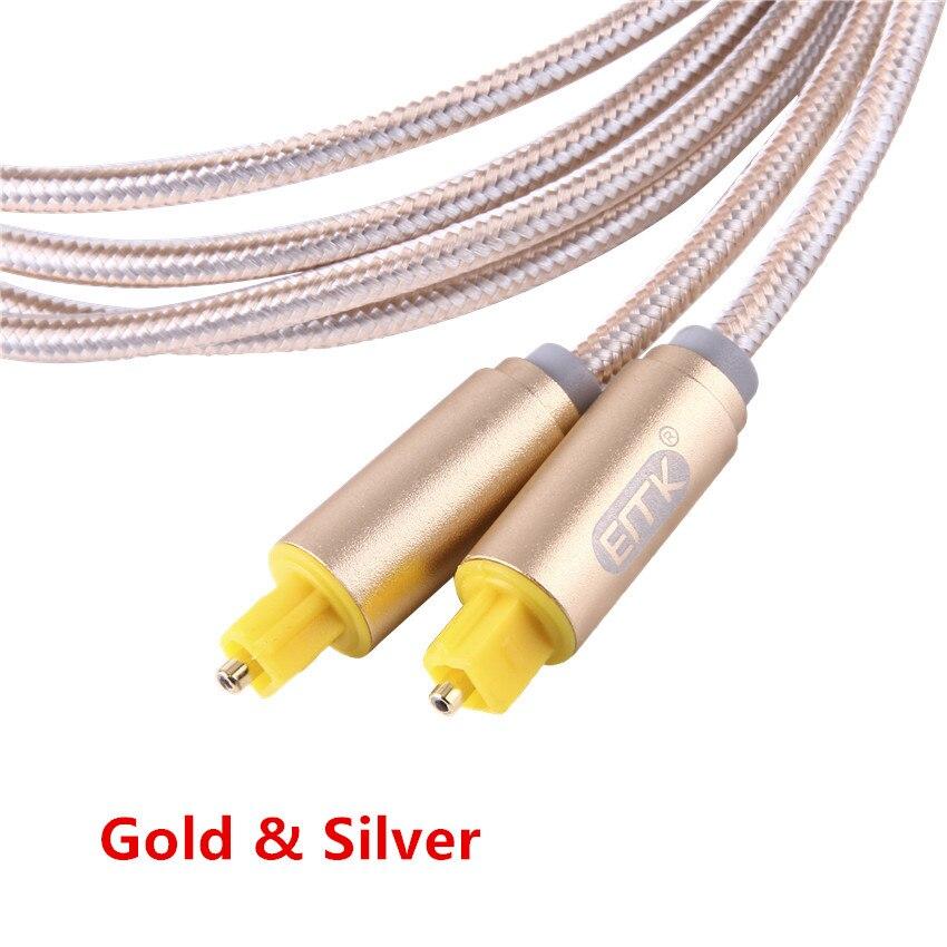 ЭМК Новинка 2017 1 м 2 м 3 м 5 м 10 м цифровой Волокно оптический OD 4.0 мм toslink аудио кабель