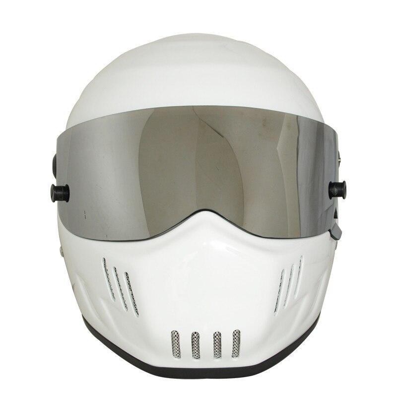 2017 новый дизайн Звездные войны Картинг шлемы белого мотоцикла ATV гонки шлем полного лица
