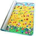 200*180*0.5 cm Single-sided Rastejando Esteira do Jogo Do Bebê, Kid Educacional Puzzle Brinquedo Para Crianças Em Desenvolvimento de Espuma Eva Tapete Do Assoalho Tapete