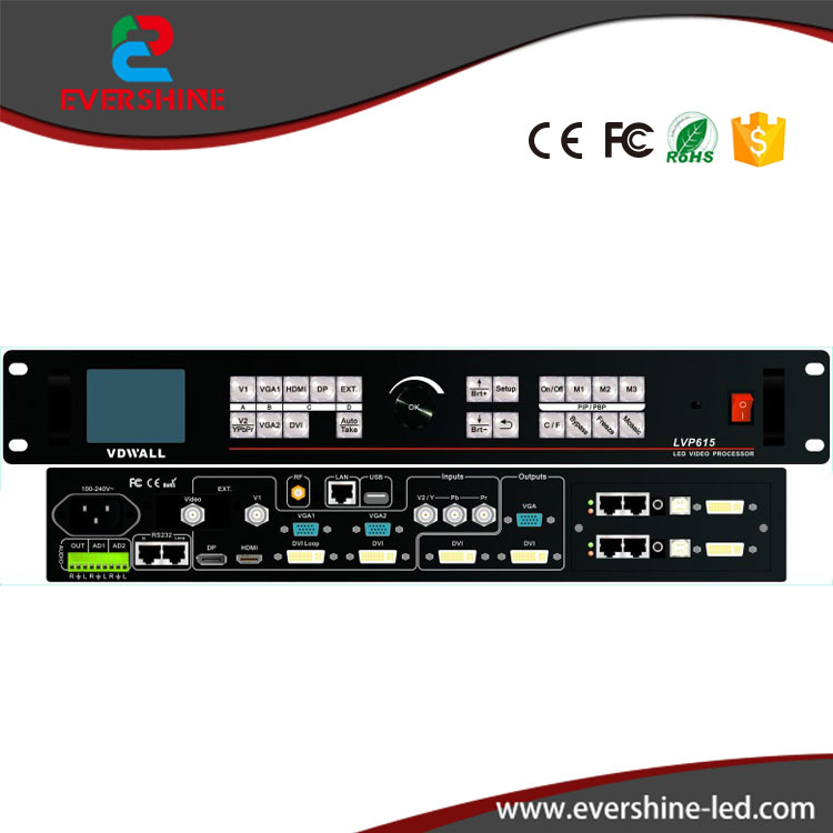 Videowall LVP615 LED Video Processor VDWALL Wifi Remote Controller for Rental LED Screen