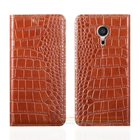 Crocodile Grain Genuine Leather Case For Meizu MX5 MX 5 5 5 Inch Luxury Phone Cover