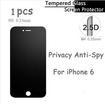 Противоосколочное ультратонкое защитное стекло 2.5D для iPhone 6 6s