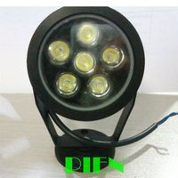 By Express 6W Waterproof IP65 LED Flood Light Outdoor Underwater Floodlight White White DC 12V Free