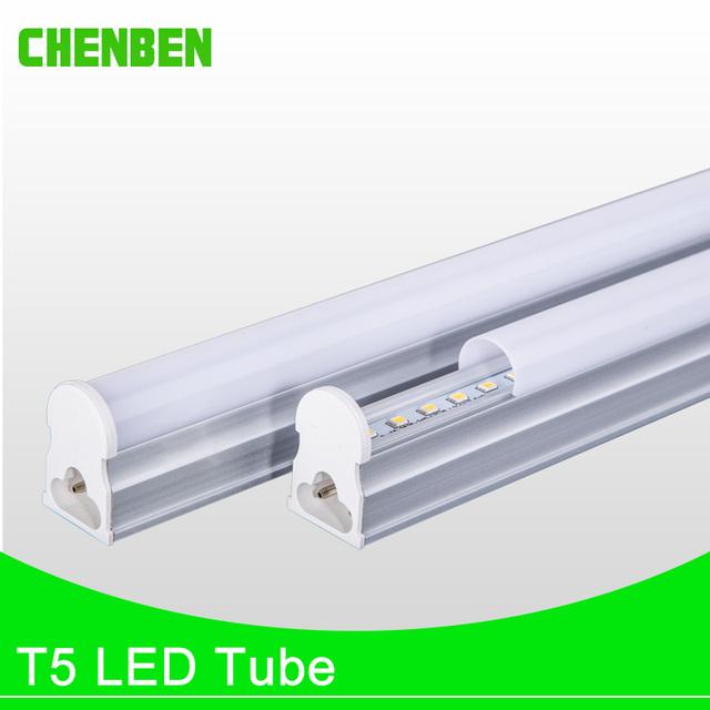 US $2 85 15% OFF|Bright LED Tube T5 600mm 300mm Integrated Led Tube Lights  220V PVC Replace Fluorescent Lamps 5W 9W Wall Lamp Cold Warm White-in LED
