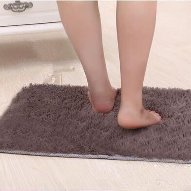 1 Pcs Door Mats Bathroom Floor Rug Washable Cleaned Bath Mat Bathroom Floor Rugs Toilet Rug