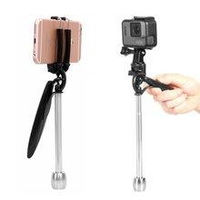 2в1 карманный мини Ручной Стабилизатор видео Steadycam камера подставка для телефона камера для Gopro/для Xiaoyi/для SJCAM камеры