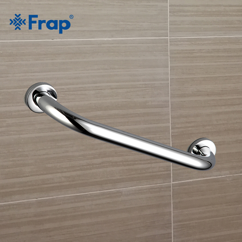 Permalink to Frap new 38cm Bathroom accessory safe handrail Stainless Steel Grab Bar Assist Safety Handle Bars Anti-slip Grip For Elder F1718