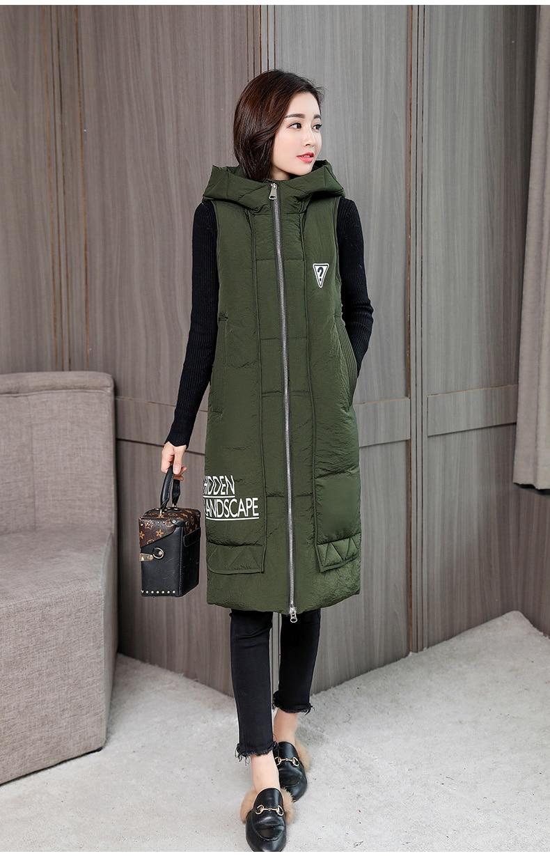 Kuyomens colete feminino sem mangas, moda outono