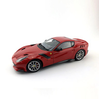 BBR 1:18 Alloy Toy Sports Car Model Ferrar F12 TDF of Children's Toy Cars Original Authorized Authentic Kids Toys Gift