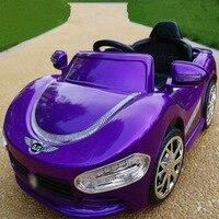 Детский Электрический автомобиль с дистанционным управлением для езды на автомобиле С четырехколесным двойным приводом детский игрушечны