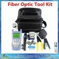 Fiber Optic Tool Kit with Clivador de Fibra Otica and Power Meter Fiber Fault Locator 5km