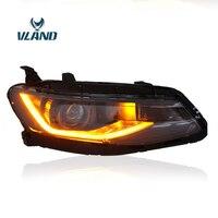 Vland заводские автомобильные аксессуары головная лампа для Chevrolet Malibu XL светодиодный головной свет с ксеноновой вилкой и дизайном игры