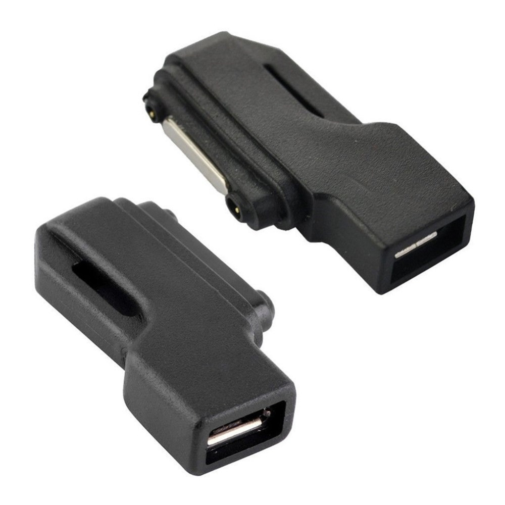Micro USB To Magnetic Charger Connector Adapter For SONY Xperia Series Z3 Z3 Compact Z2, Z1, Z1 Compact Mini, Z3 Tablet