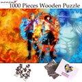Пазл MOMEMO горящий человек Марко Ace  1000 шт.  одна головоломка Аниме  деревянный пазл для взрослых  пазлы для детей-подростков