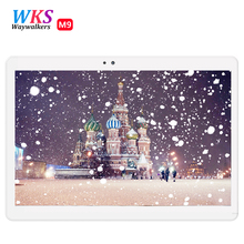 Free shipping 10.1 inch 4G Lte Tablet PC Octa Core 4GB RAM 64GB ROM 1920*1200 IPS Dual Cameras GPS 5.0MP Android 6.0 Tablet +Gif