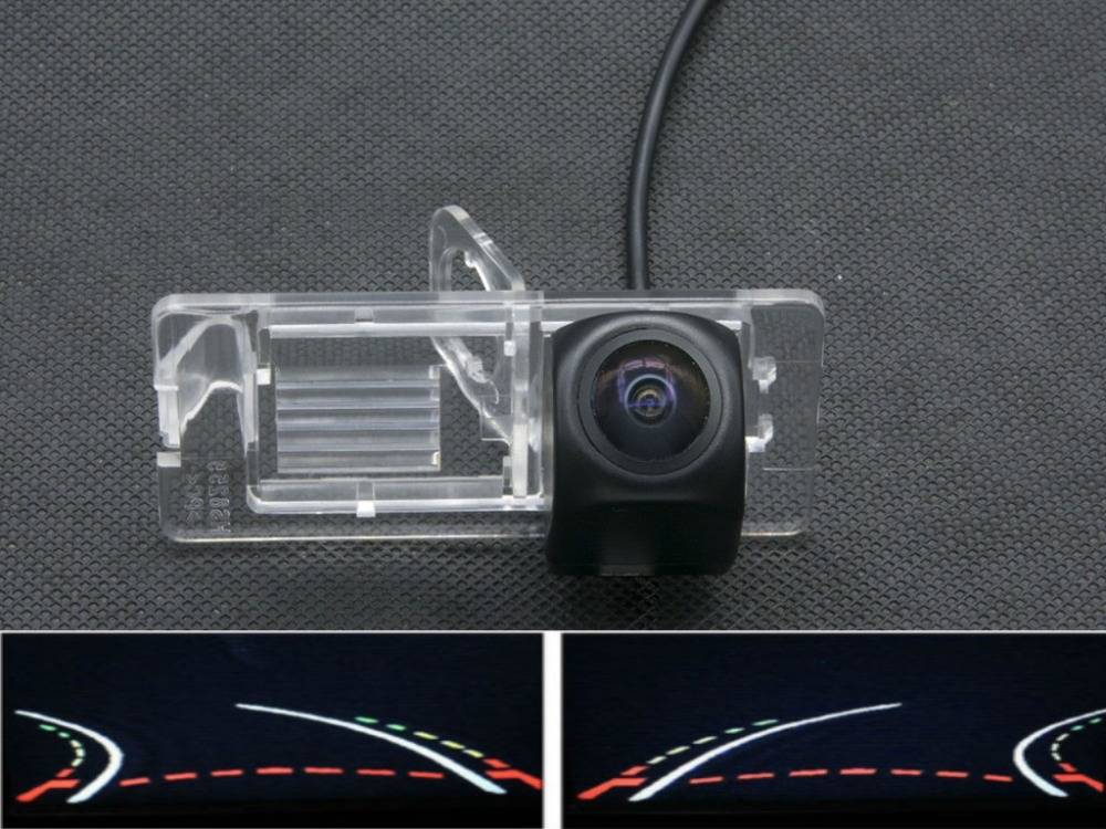 Trajectory Tracks Fisheye 1080P Car Rear view Camera for Renault Duster Fluence Megane 3 For Nissan Terrano