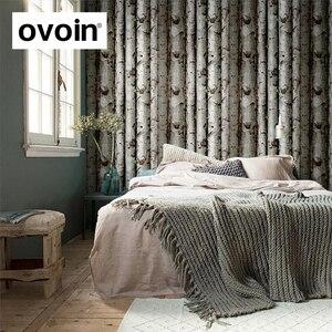 Image 2 - 3D Birke Wald Woods non woven Wand Papier Kinderzimmer Tapete Schlafzimmer Wandbekleidung