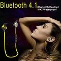 Bluetooth fone de ouvido à prova d' água IPX7 à prova d' água sem fio bluetooth 4.1 Fone de Ouvido Fones de Ouvido handsfree Correndo esporte com Microfone APT-X