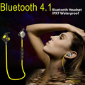 bluetooth earphone waterproof IPX7 water proof wireless bluetooth 4.1 Headset Earbuds handsfree Running sport with Mic APT-X