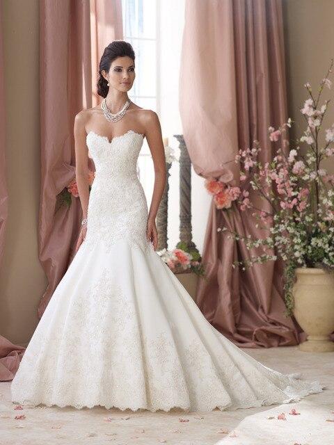 simples vestidos de novia sirena vestidos de novia de raso blanco