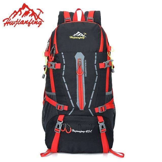 45L Outdoor Bags Backpacks Camping Hiking Traveling Mountain Backpack Sports Bag Sport Trekking Climbing Cycling Waterproof Bag 1