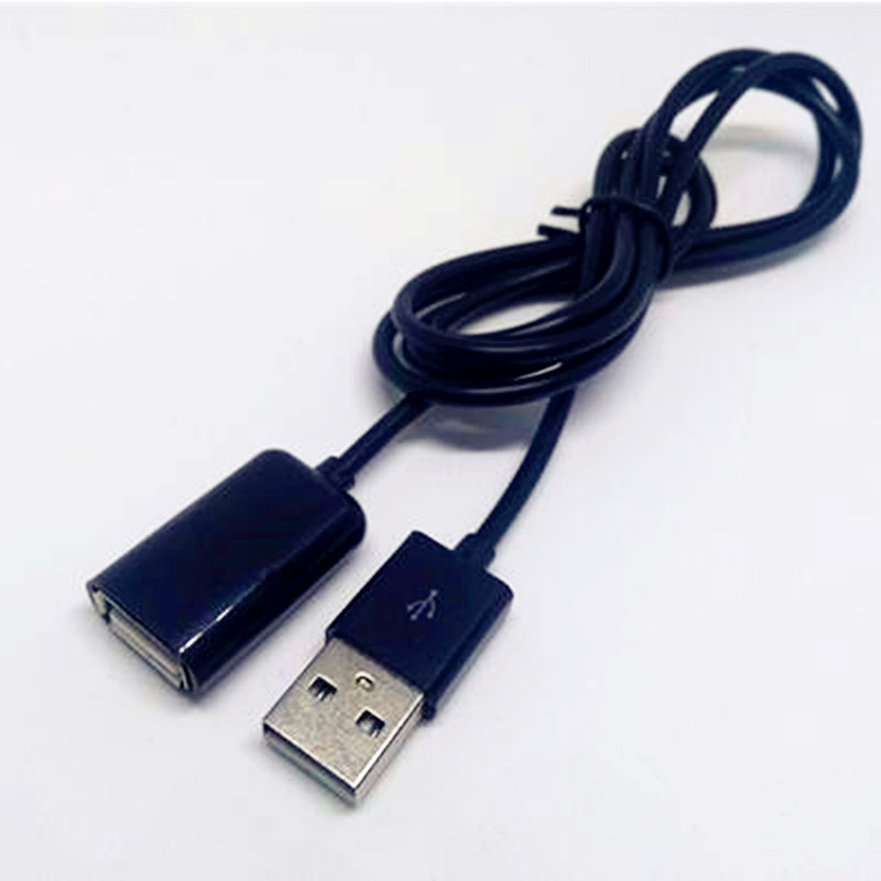 USB 2.0 Extension Cord Adapter Connector 100cm Male to Female Data Sync Cable