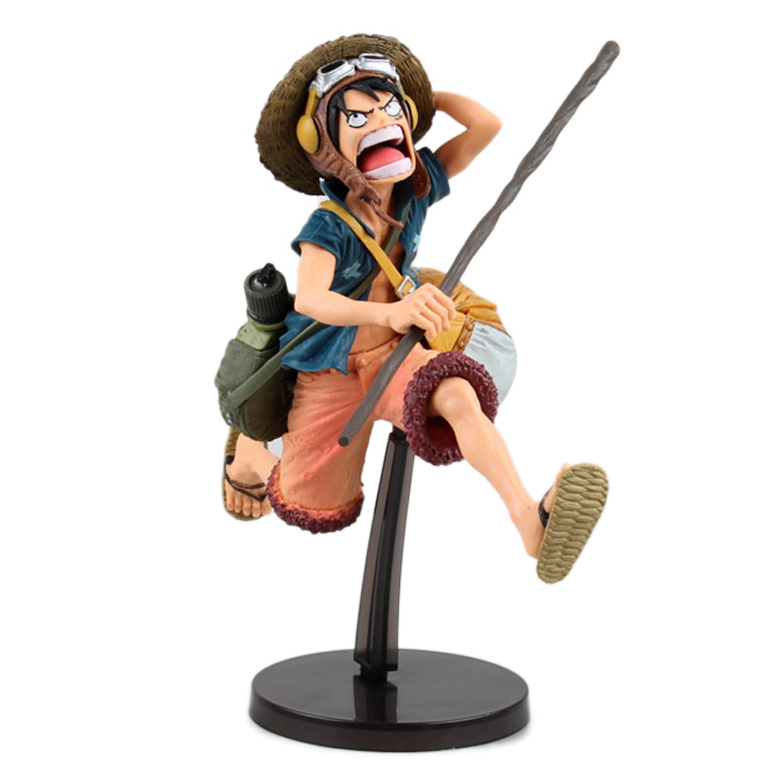 Anime One Piece Luffy SCultures 21cm BIG Figure Colosseum 4 Vol.1 Portrait of Pirates Monkey D Luffy Figure New J01