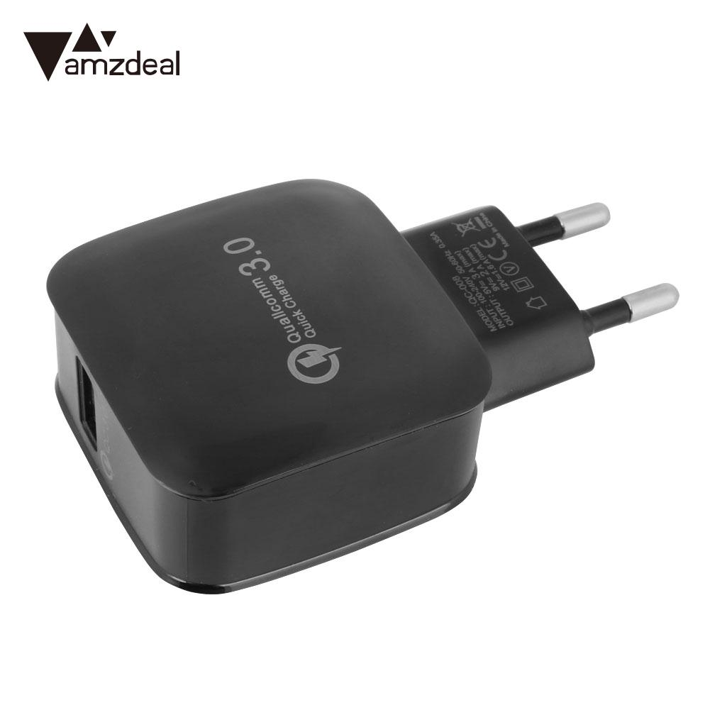 Wall Charger Adapter USB3.0 Universal Accessories Wall Fast Charger EU Plug
