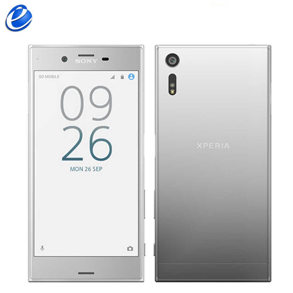 "Original SonyXperia XZ Sim unique F8331/double Sim F8332 Quad Core empreinte digitale 5.2 ""Android 3 GB RAM 32 GB/64 GB ROM téléphone portable"