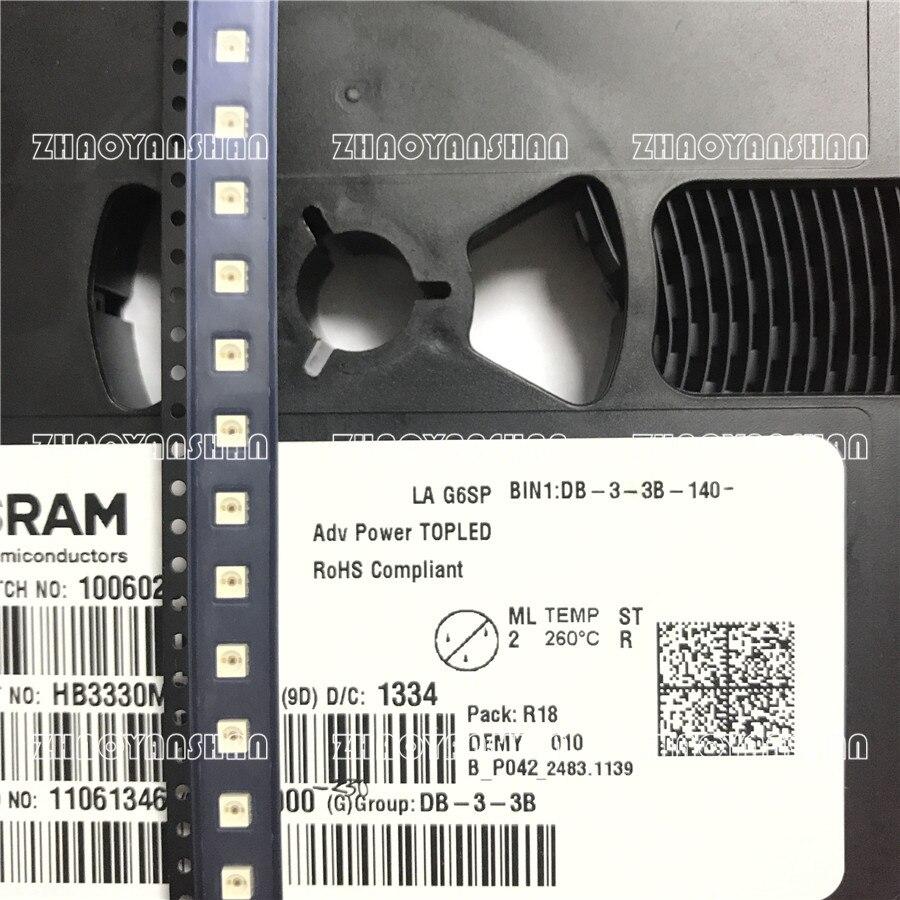 LA G6SP 3528 SMD LED RED 100pcs LAG6SP PLCC6 0.5W Power 3528 six-foot RED car