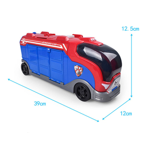 Image 5 - Paw Patrol Rescue Bus Dog Patrulla canina Toys Anime Vehicle Car Plastic Toy Action Figure Model Birthday Gifts Toy For  Child