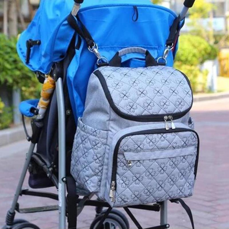 2pcs Diaper Bag Fashion Mummy Maternity Nappy Bag Brand Baby Travel Backpack Diaper Organizer Nursing Bag For Baby Stroller XV1 baby items organizer family travel bag
