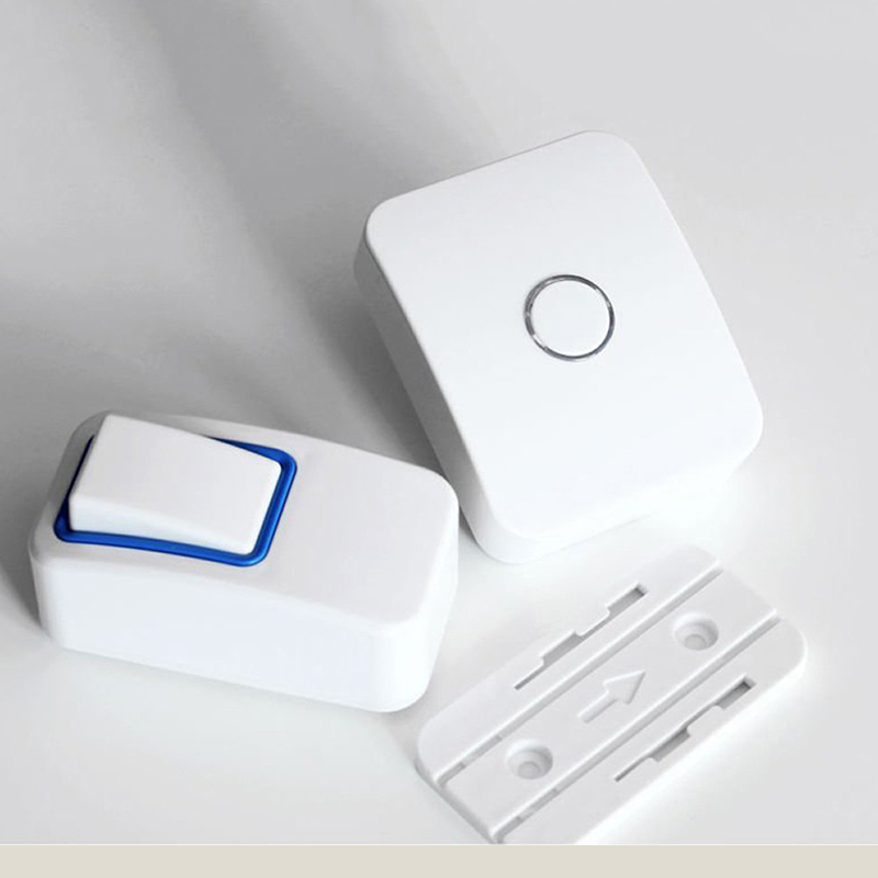 NO BATTERY WIRELESS DOORBELL 1 Buttons 1chime Perfect In Rainy Days No Cabling To Install 120m