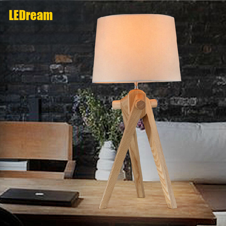 Northern wind wood led desk lamp study of contemporary and contracted creative desk lamp of bedroom  a bed lamp wooden lamps ароматизатор aroma wind 002 a