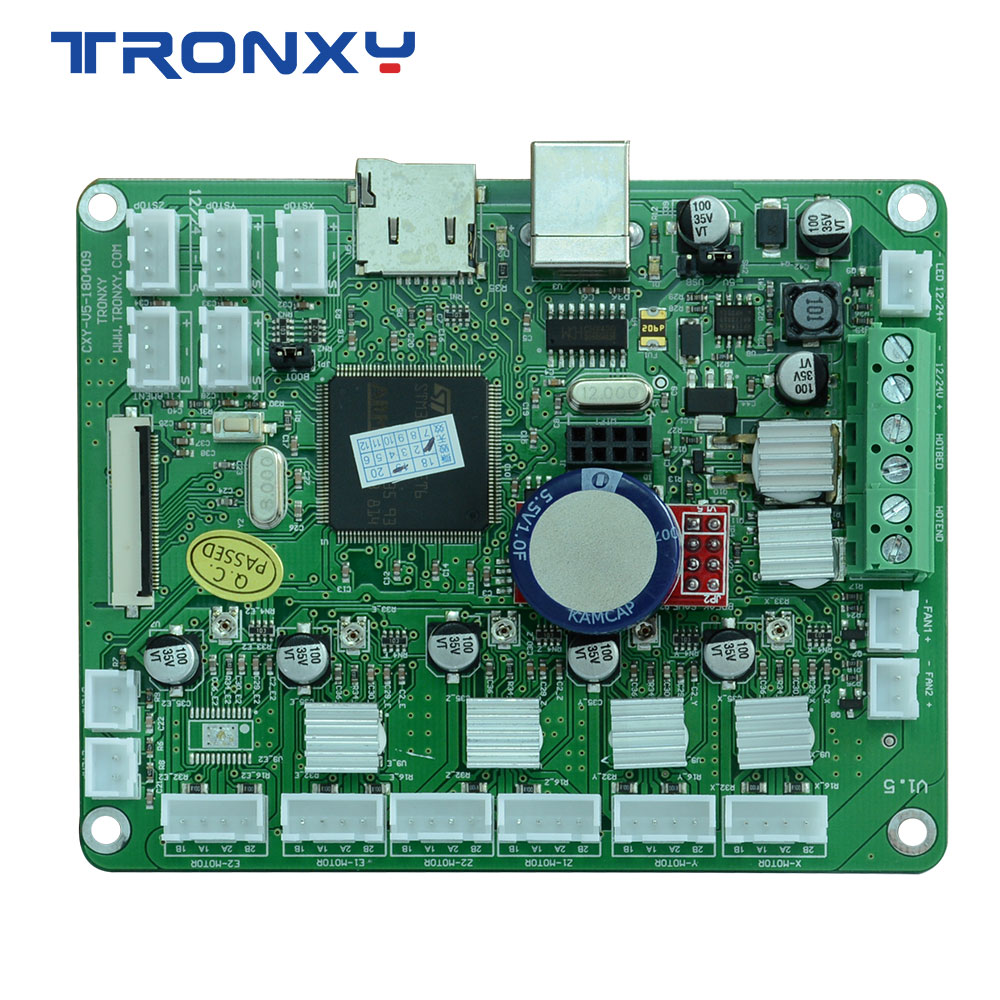 TRONXY 3d printer X5S series mainboard SD card LCD display screen 110 90 28