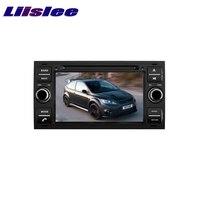 LiisLee Автомобильный мультимедийный для Ford Focus S MAX 2005 ~ 2007 ТВ DVD gps аудио Hi Fi радио оригинального Стиль навигации