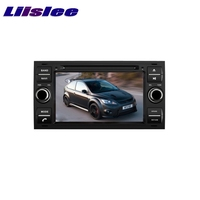 LiisLee Car Multimedia For Ford For Focus S MAX 2005~2007 TV DVD GPS Audio Hi Fi Radio Original Style Navigation
