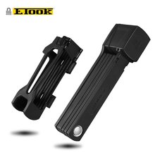 ETOOK Strong Folding Lock For Bicycle Bike Electric Motorcycle MTB Mountain Road Heavy Duty Anti-theft