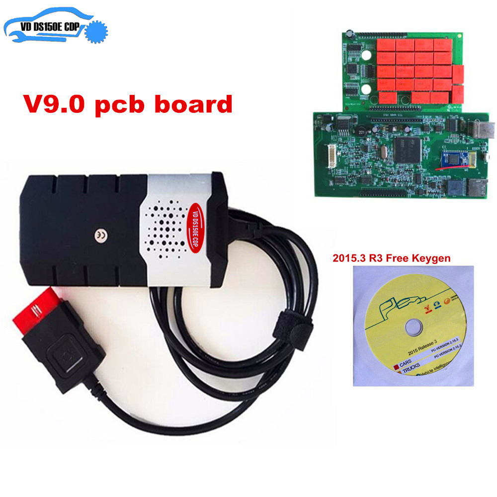 V3 0 Red Relay Obd Obd2 Scan Vd Ds150e Cdp tcs Cdp Pro Plus 2016 0