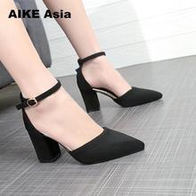 33-43 Size Women Sandals High Heels Summer Women Shoes Gladi
