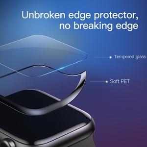 Image 5 - Baseus 0.2mm 얇은 보호 유리 Apple Watch 4 5 6 SE 3D Full Coverage 강화 유리 iWatch 4 3 2 화면 보호기