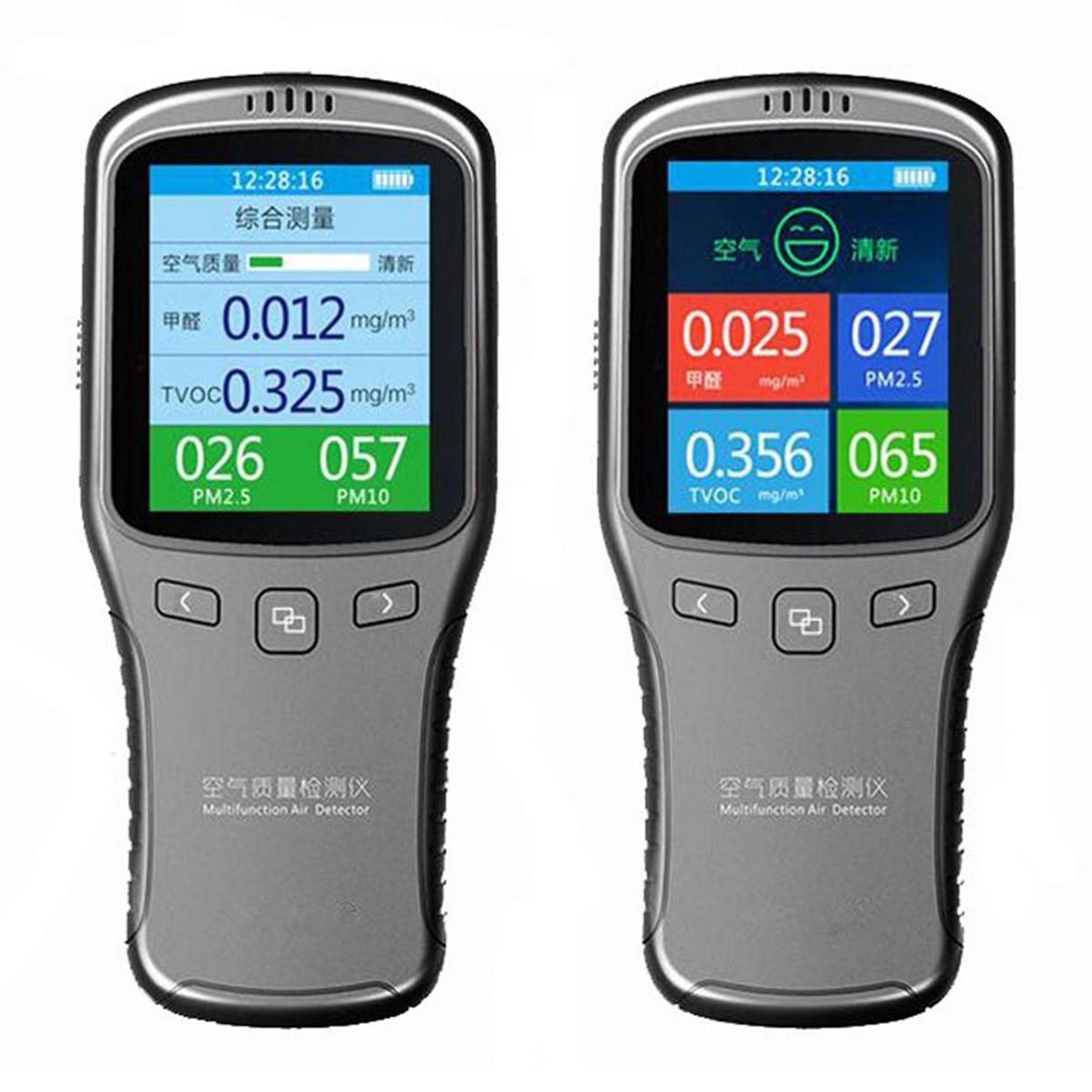 WP6912 6 в 1 бытовой лазерный формальдегида детектор CH2O TVOC PM2.5 тестер Air Quality детектор