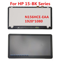 Laptop LCD Display TN Screen Touch Assembly Bezel For HP Pavilion X360 15 Bk Series 15