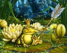 5d diy Полная Алмазная картина Лягушка принц картины крестиком