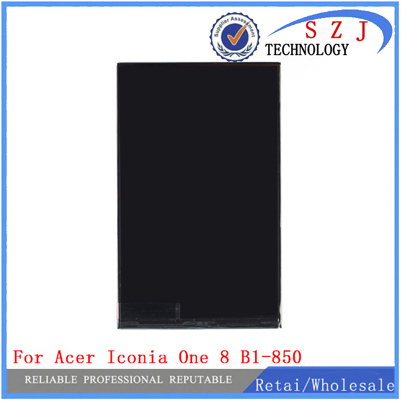 New 8 INCH LCD display Matrix For Acer Iconia One 8 B1-850 tablet pc LCD display Matrix screen Replacement FREE SHIPPING new 7 inch touch screen digitizer for for acer iconia tab a110 tablet pc free shipping