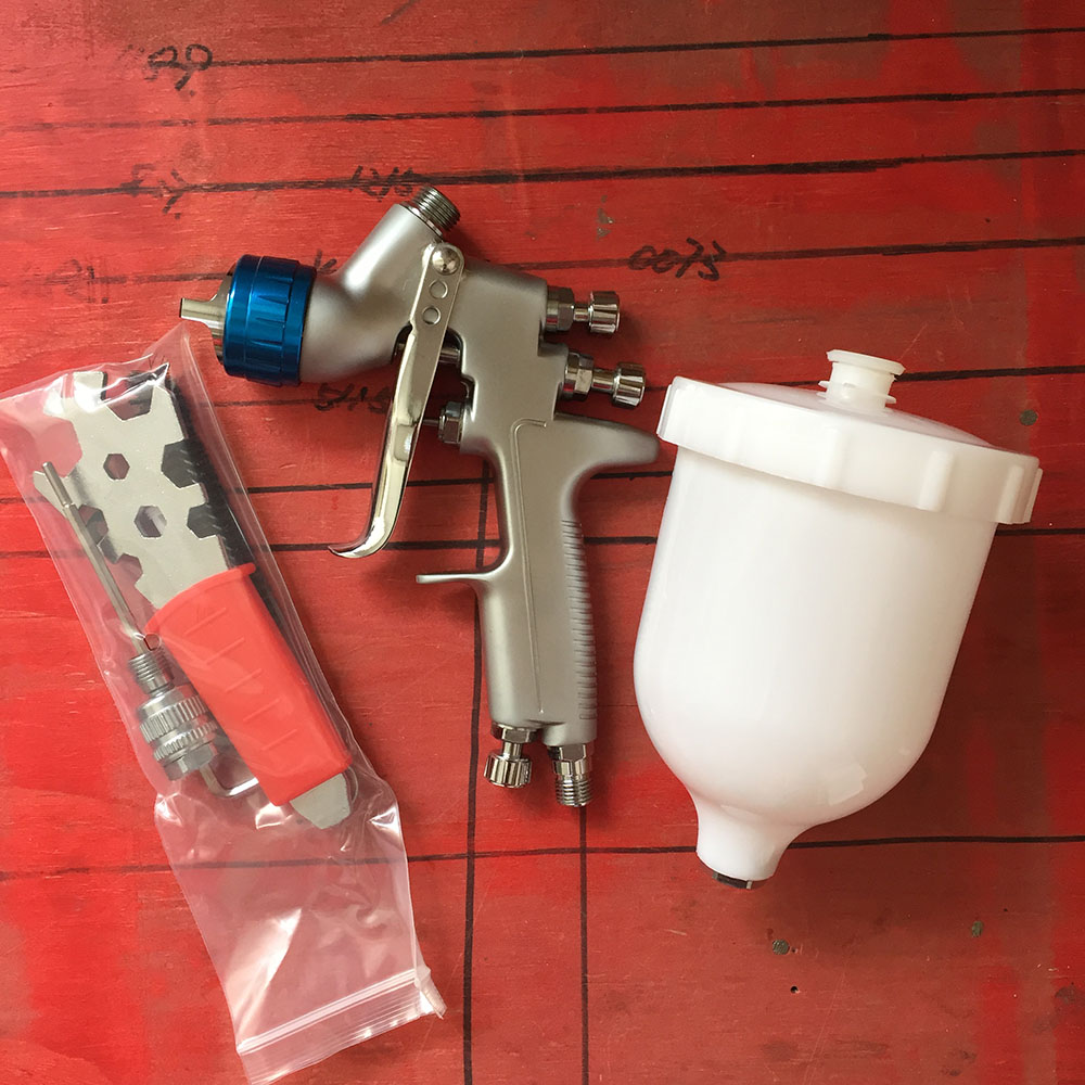 SAT0080 air paint gun pistolet peinture car paint sprayers LVMP 600ml cup gravity feed pneumatic spray gun sat0080 car spraying compressor pistolet peinture automobile airbrush compressor paint spray gun gravity feed spray paint gun